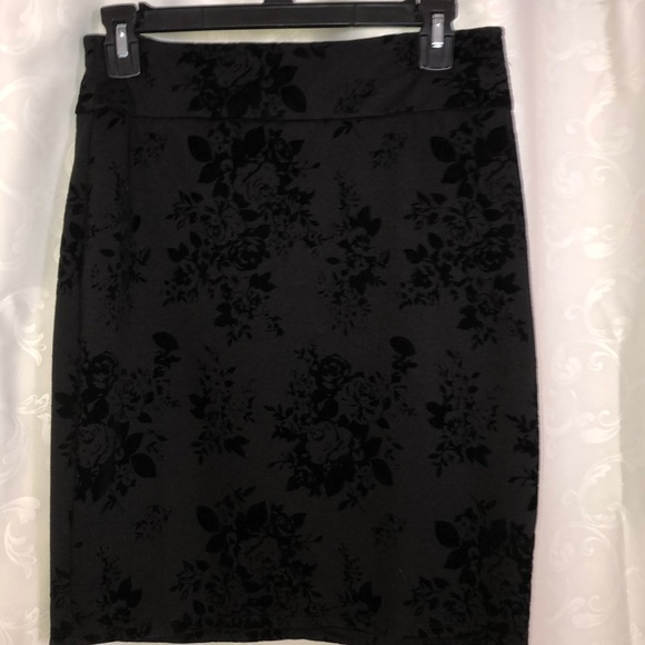 Joe Benbasset Dresses & Skirts - Flower patterned pencil skirt